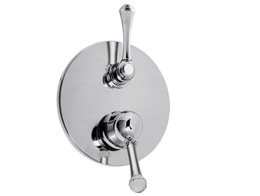 Shower mixer with diverter SYMPHONY - 4311-3 by Rubinetteria Giulini