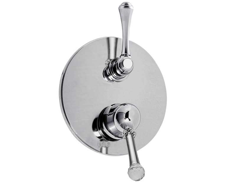 Shower mixer with diverter SYMPHONY  - 4311-4 by Rubinetteria Giulini