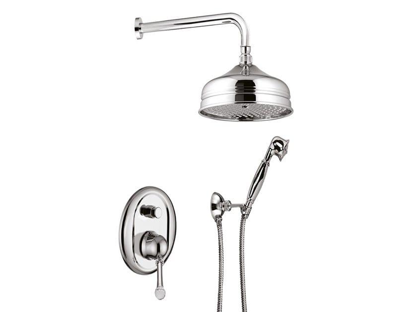 Shower set with hand shower SYMPHONY  - 4311KB by Rubinetteria Giulini