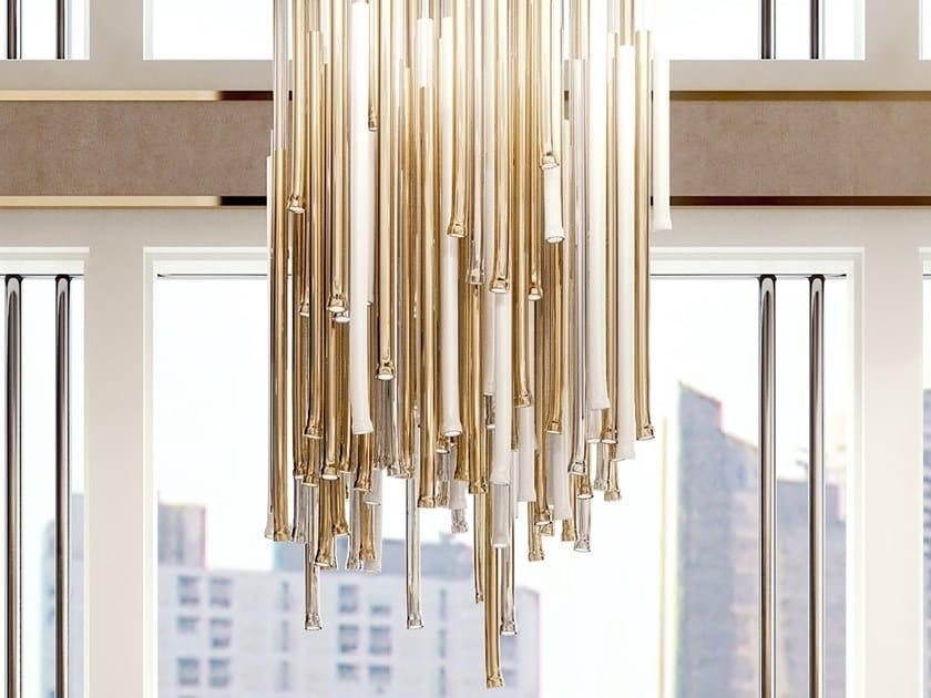 LED metal pendant lamp SYMPHONY | LED pendant lamp by Bizzotto