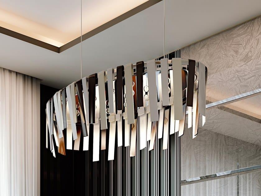 Direct light metal pendant lamp SYMPHONY | Pendant lamp by Bizzotto