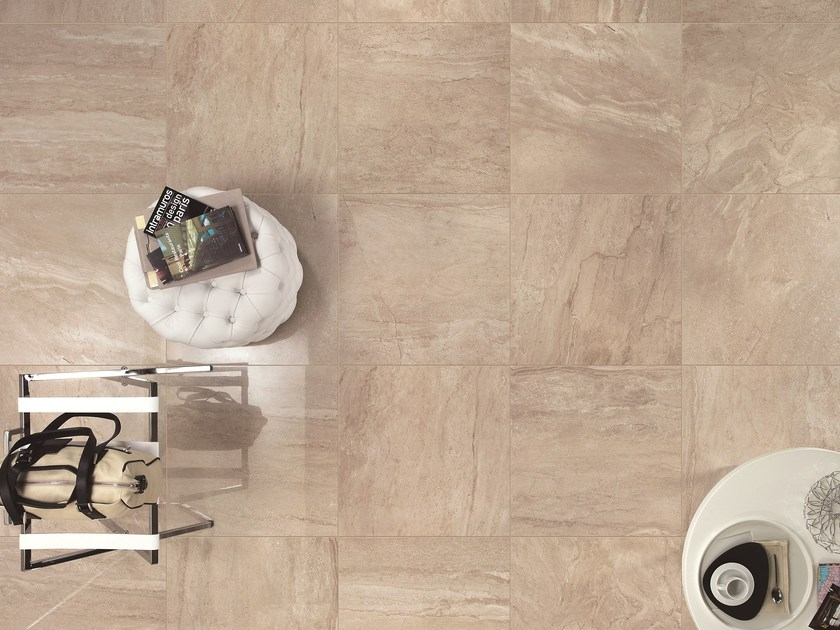 Porcelain stoneware flooring with marble effect SYMPHONY | Flooring by Ragno
