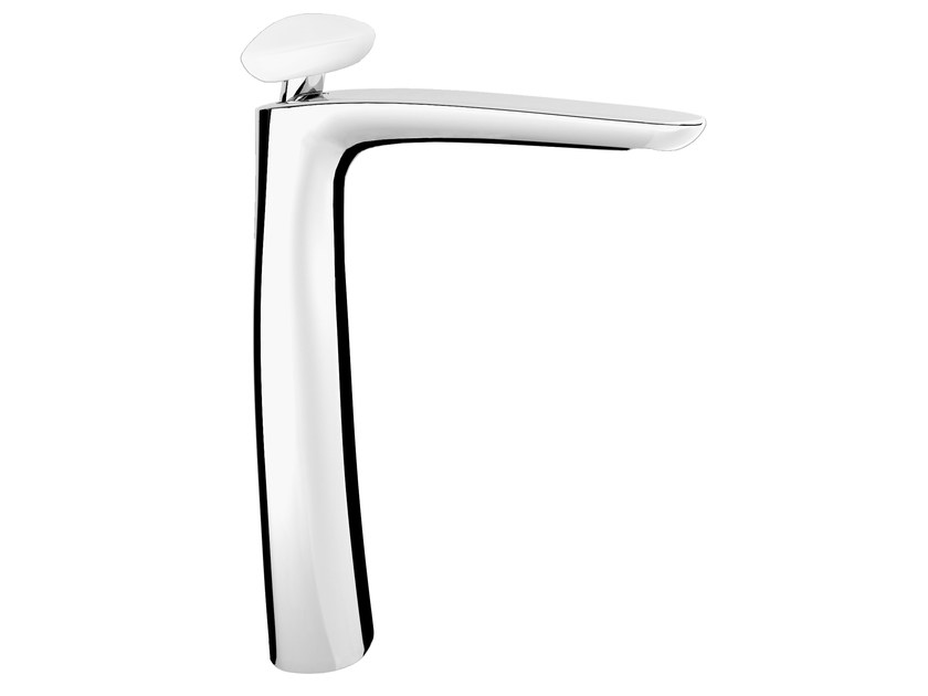 Countertop single handle washbasin mixer without waste SYNERGY STONE 95 - 9511500 by Fir Italia