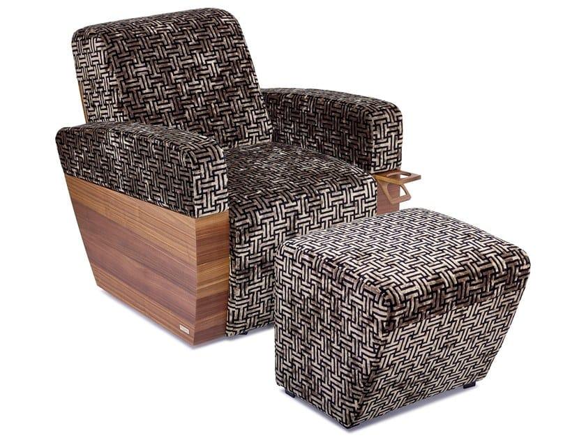 Microfiber footstool MONACO | Footstool by moovia