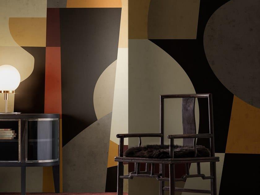 Motif wallpaper SYNTHETIC WANDER by Wall&decò