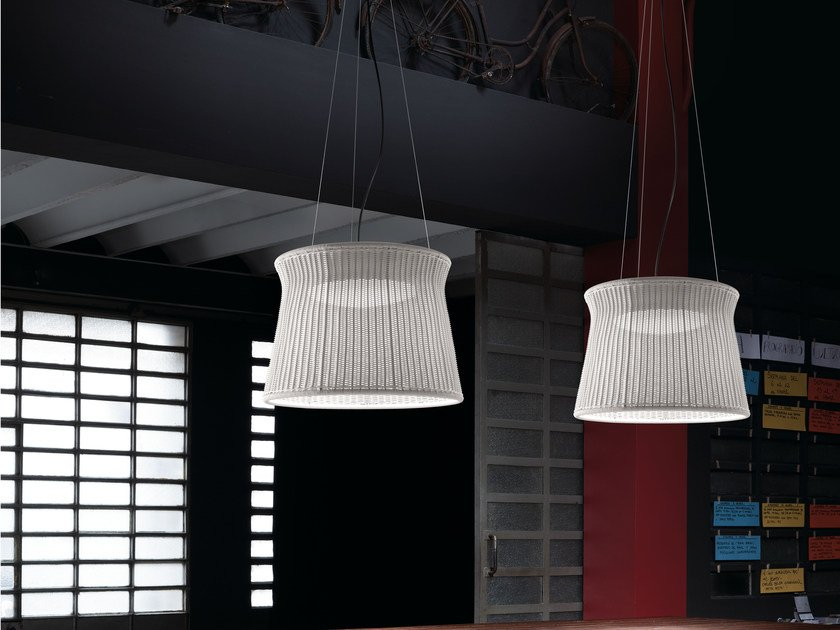 LED pendant lamp SYRA 90 OUTDOOR by BOVER