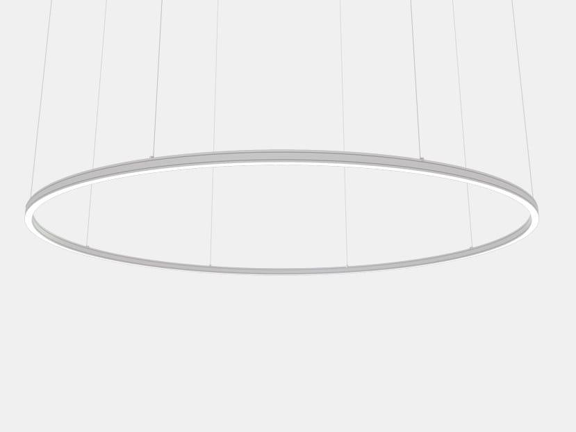 Aluminium pendant lamp SYSTEM 6000 FLOW | Pendant lamp by ES-SYSTEM