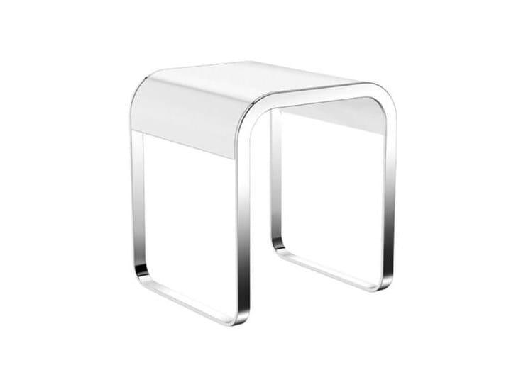 System 800 sgabello per bagno collezione system 800 by hewi design