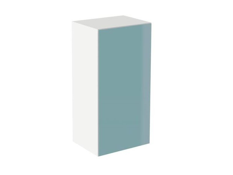 MDF bathroom wall cabinet with doors SYSTEM M40 | Bathroom wall cabinet with doors by HEWI
