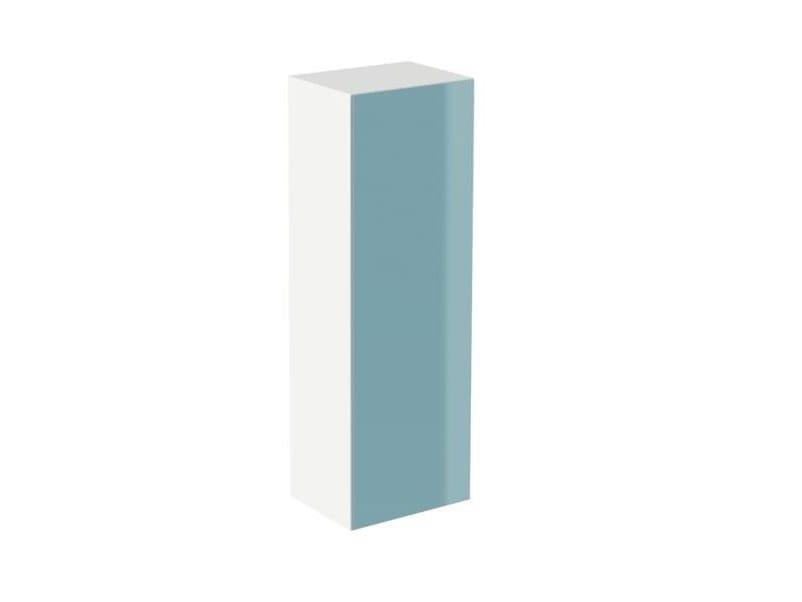 Tall MDF bathroom wall cabinet SYSTEM M40 | Tall bathroom wall cabinet by HEWI