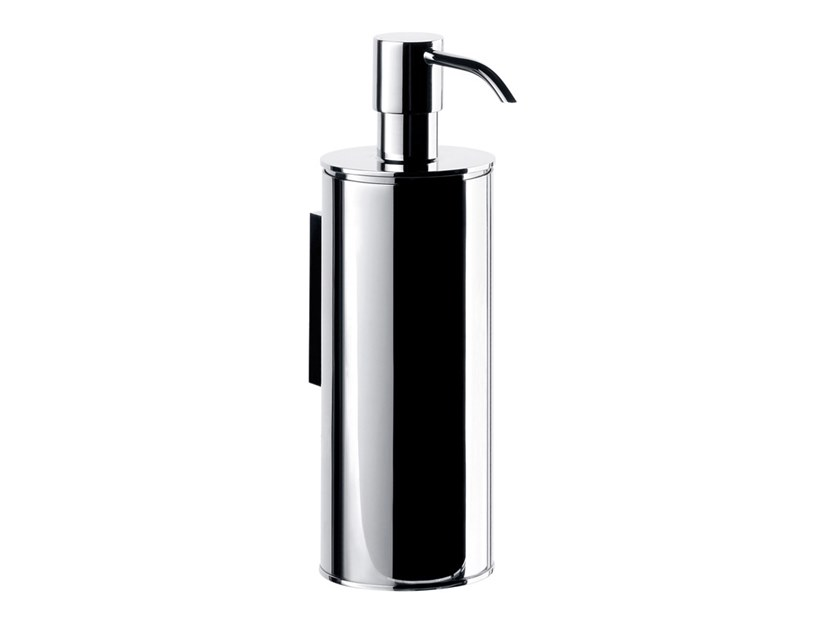 Wall-mounted metal Bathroom soap dispenser SYSTEM2 | Bathroom soap dispenser by Emco Bad