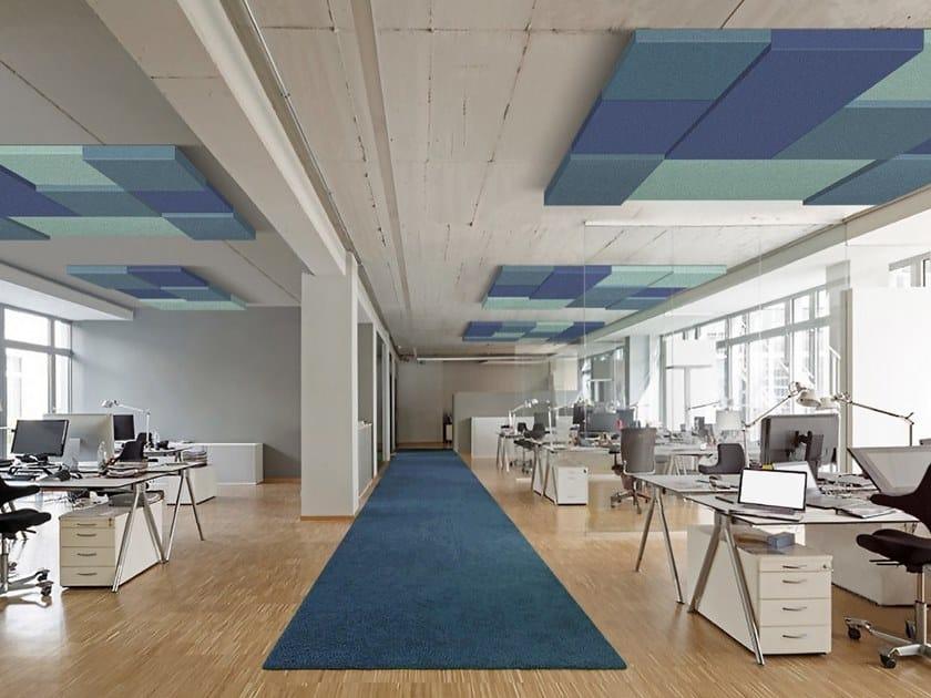 Polyester fibre Decorative acoustic panel T-FRAME | Polyester fibre Decorative acoustic panel by Slalom