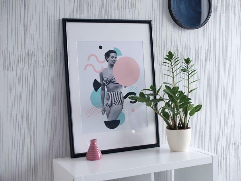 Fire retardant Digital printing wallpaper T-MAN by NANNI GIANCARLO & C.