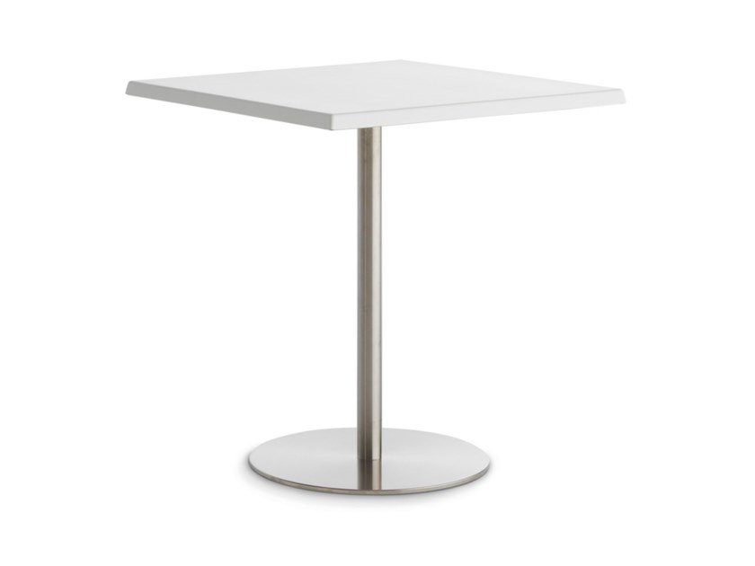Square garden table T1 OUTDOOR BISTROT by Casamania & Horm