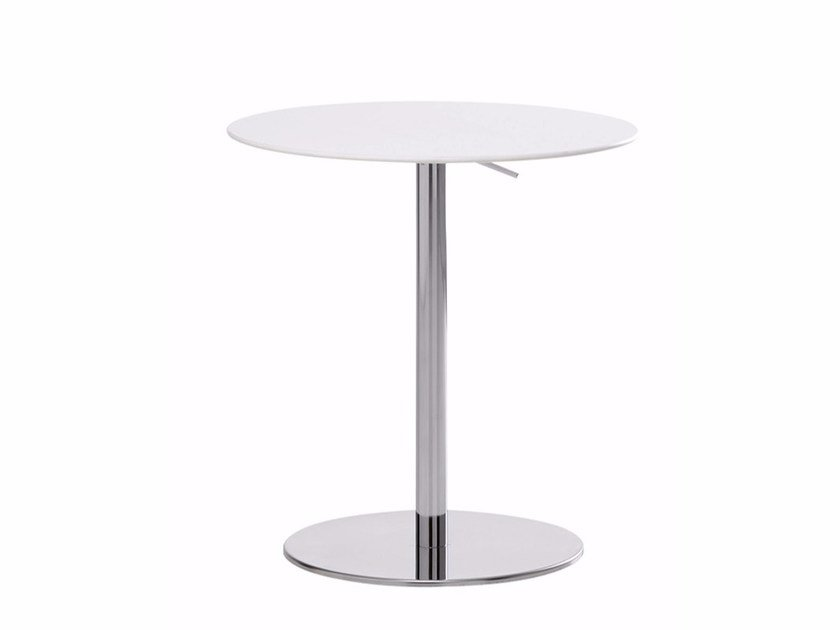 Height-adjustable round table T2 BISTROT | Round table by Casamania & Horm