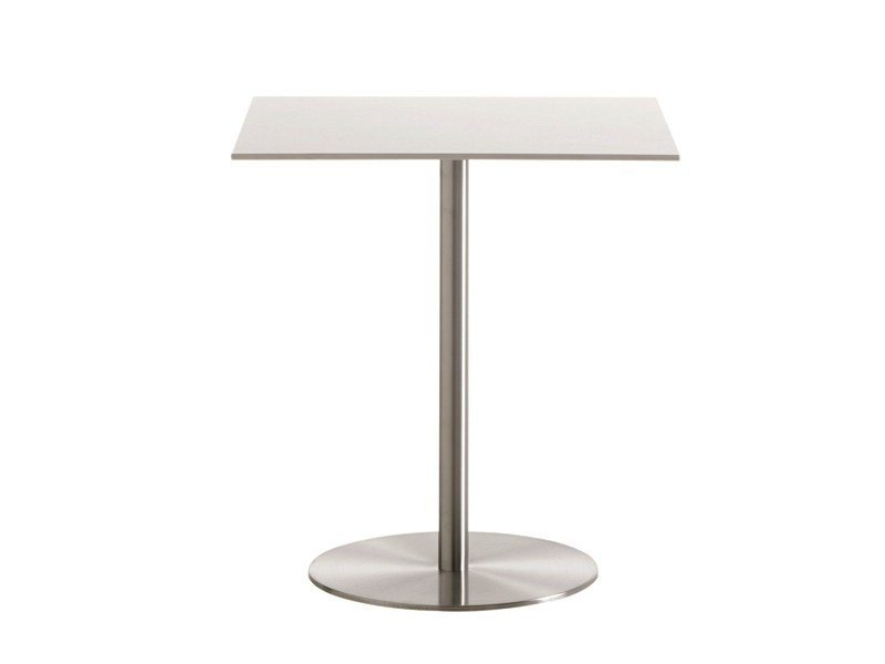 Height-adjustable square table T2 BISTROT | Square table by Casamania & Horm