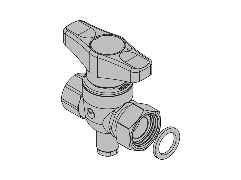 Top entry valve for metering systems T4J Straight valve probe fitting by TECO