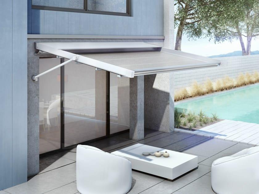 Sliding aluminium Folding arm awning T5 | Awning by KE Outdoor Design