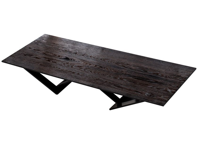 Rectangular oak table TA TISCH | Oak table by valerie_objects