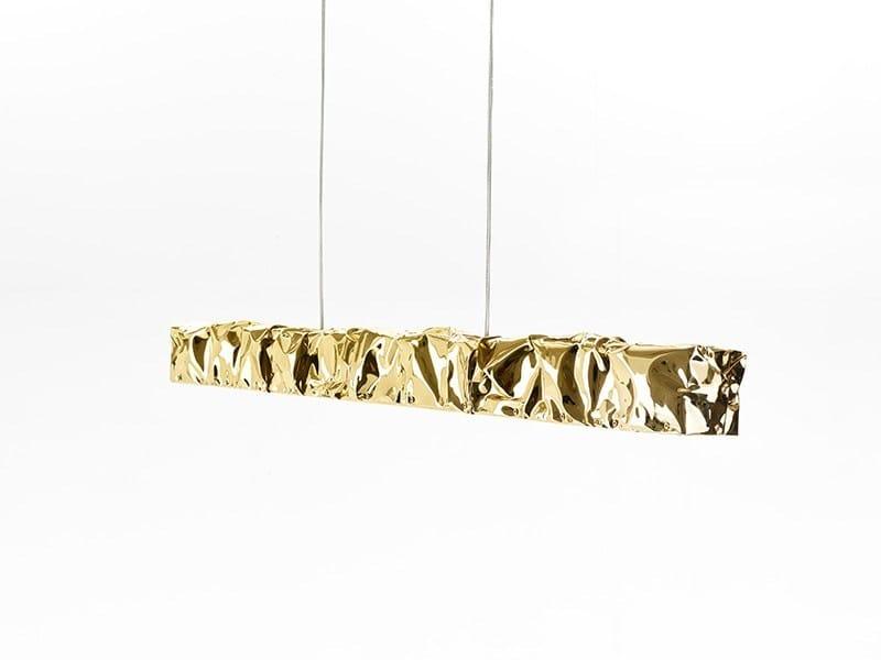 LED aluminium pendant lamp TAB.U LUCE by Opinion Ciatti