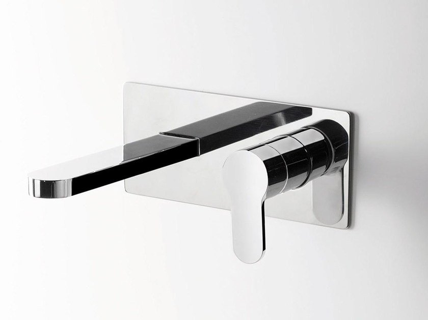 Wall-mounted washbasin mixer TAB | Wall-mounted washbasin mixer by RITMONIO