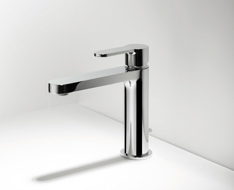 Countertop washbasin mixer TAB | Single handle washbasin mixer by RITMONIO