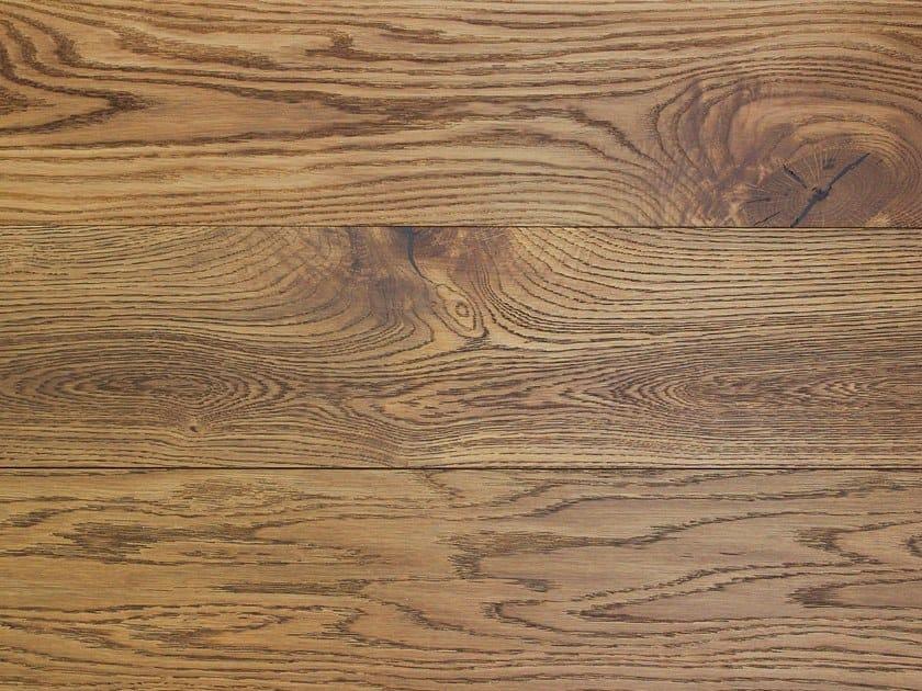 2 layers brushed oak parquet TABACCO HAVANA by Lignum Venetia