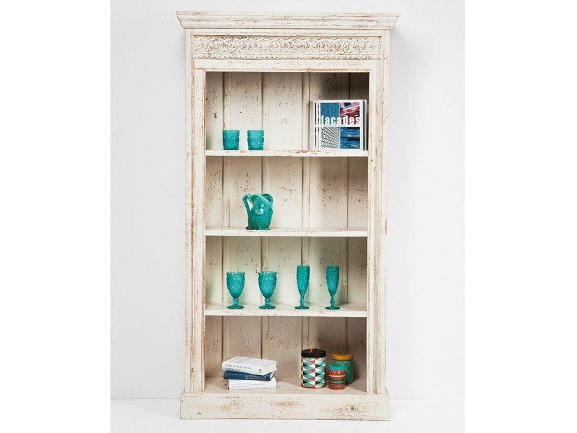 Open wooden bookcase TABERNA | Bookcase by KARE-DESIGN