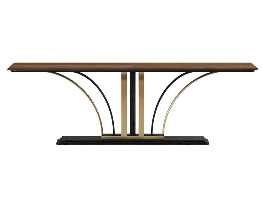 Rectangular wooden table DILAN | Table by A.R. Arredamenti