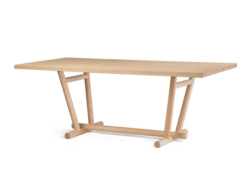Wooden table WOODBRIDGE | Table by ALMA DESIGN