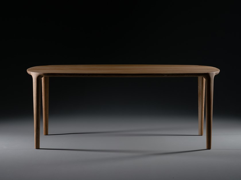 Rectangular solid wood table WU | Table by Artisan
