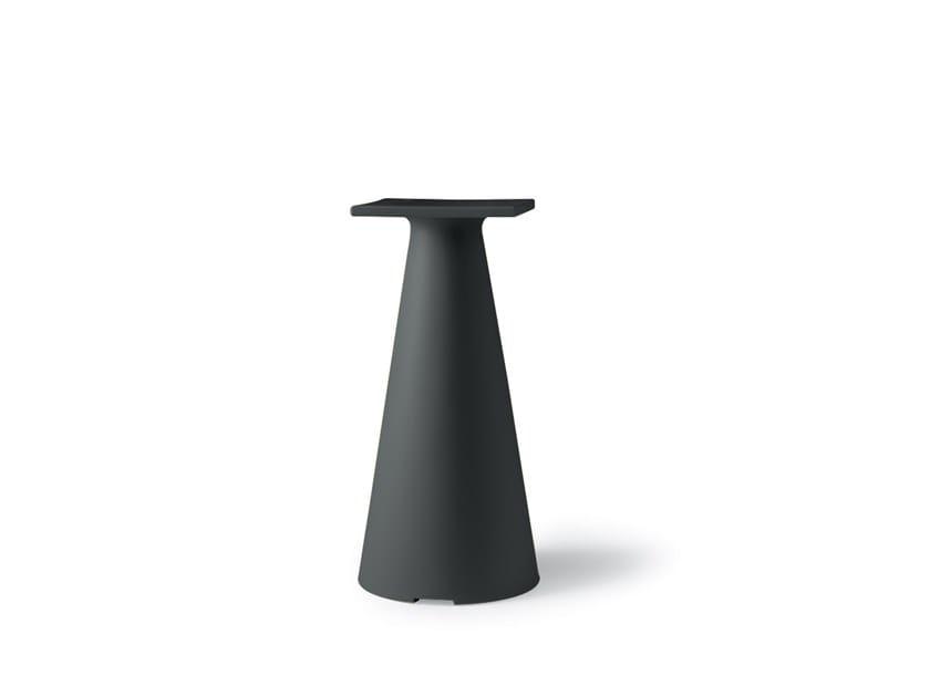 Polyethylene table base TIFFANY | Table base by Lyxo Design
