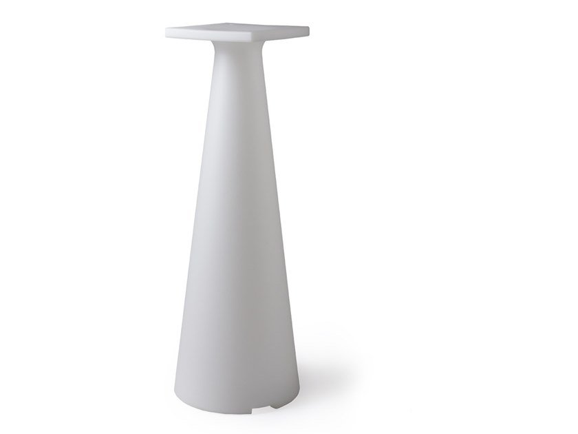 Polyethylene table base TIFFANY LUCE | Table base by Lyxo Design