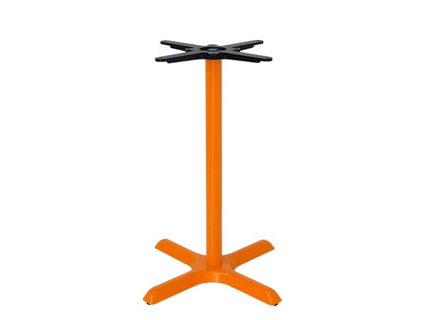 Cast iron table base with 4-spoke base DINAMIC | Table base by Vela Arredamenti