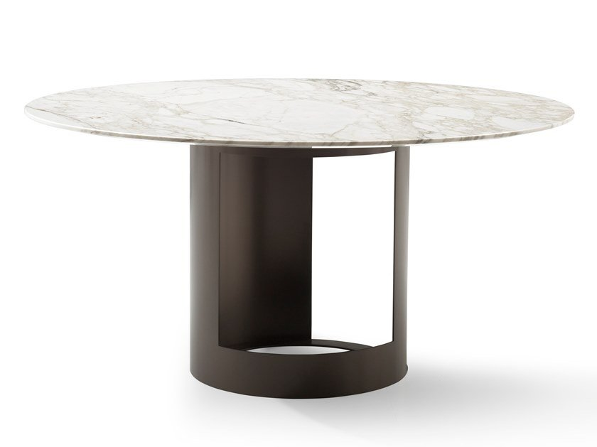 Round marble table CI | Table by Bodema