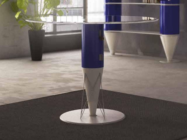 Round crystal table CONCERT   Table by Boffetto