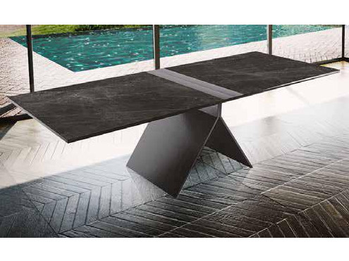 Rectangular porcelain stoneware table METROPOLITAN | Table by Boffetto
