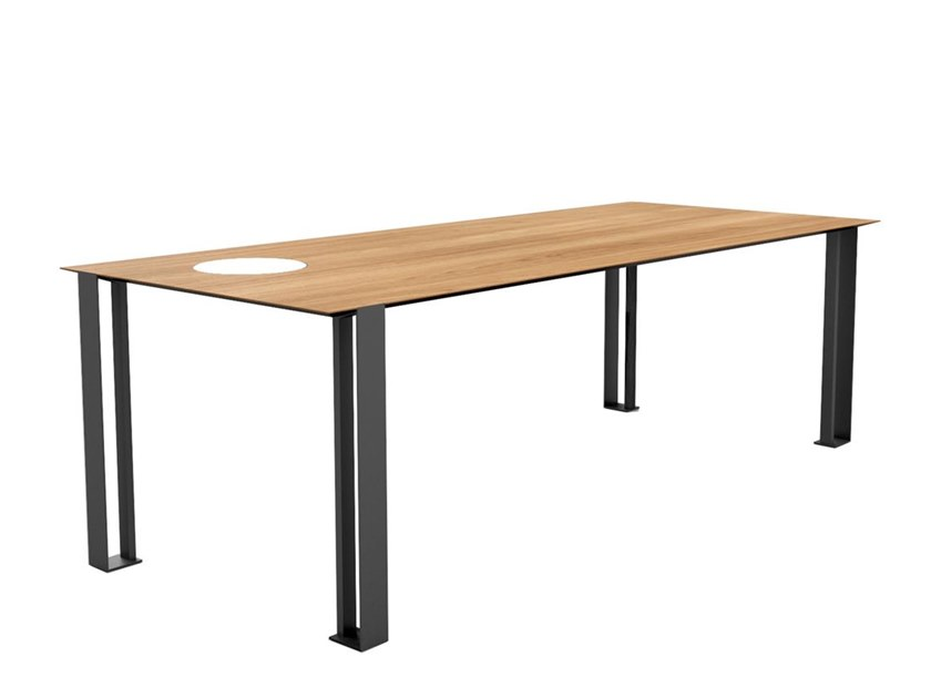 Wooden dining table PLS | Table by Boffetto