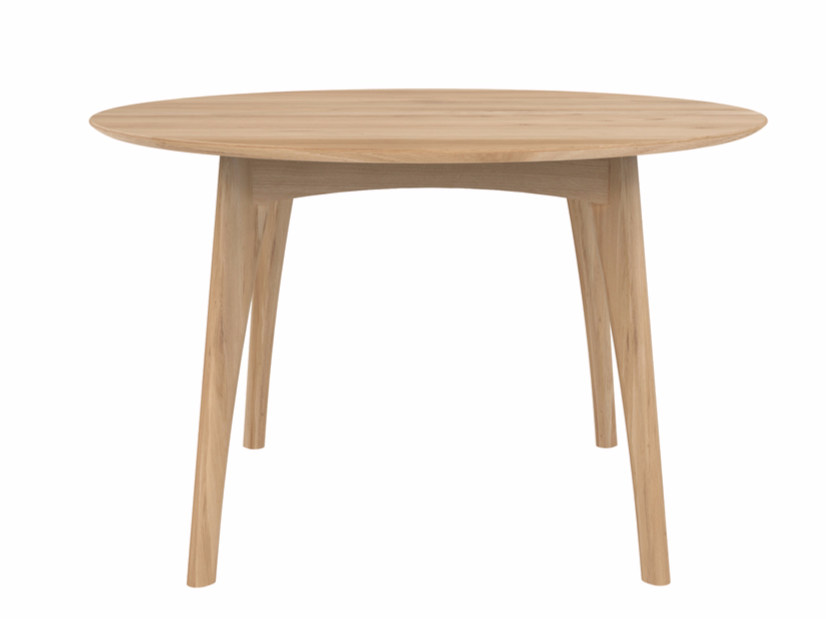 Round oak dining table OAK OSSO | Table by Ethnicraft