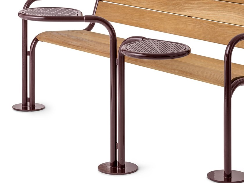 Powder coated steel Table for public areas GROW | Table for public areas by Nola Industrier