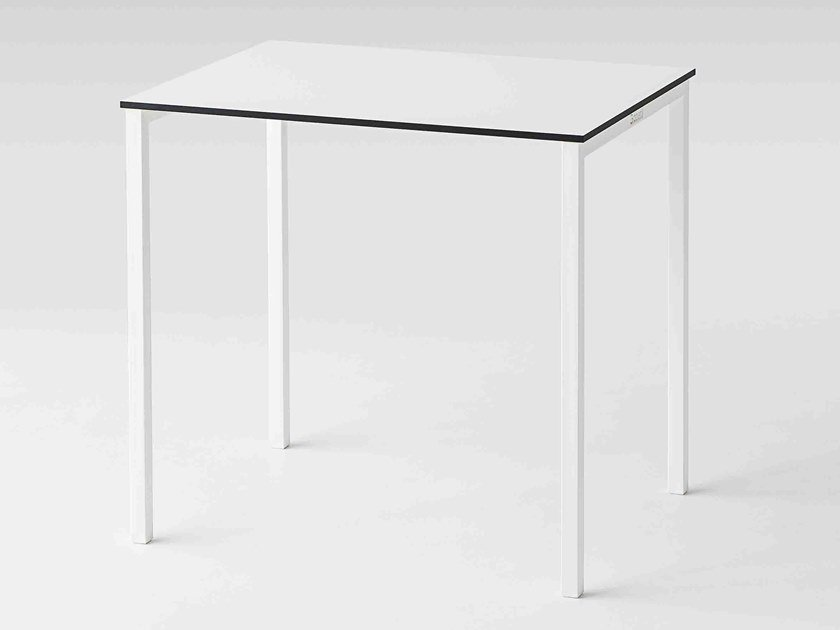 Rectangular Compactop® table CLARO SLIM | Table by GABER