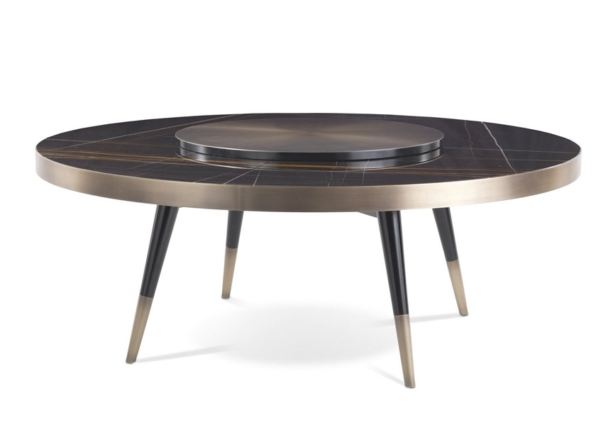 Round marble table MAYFAIR | Table by Gianfranco Ferré Home