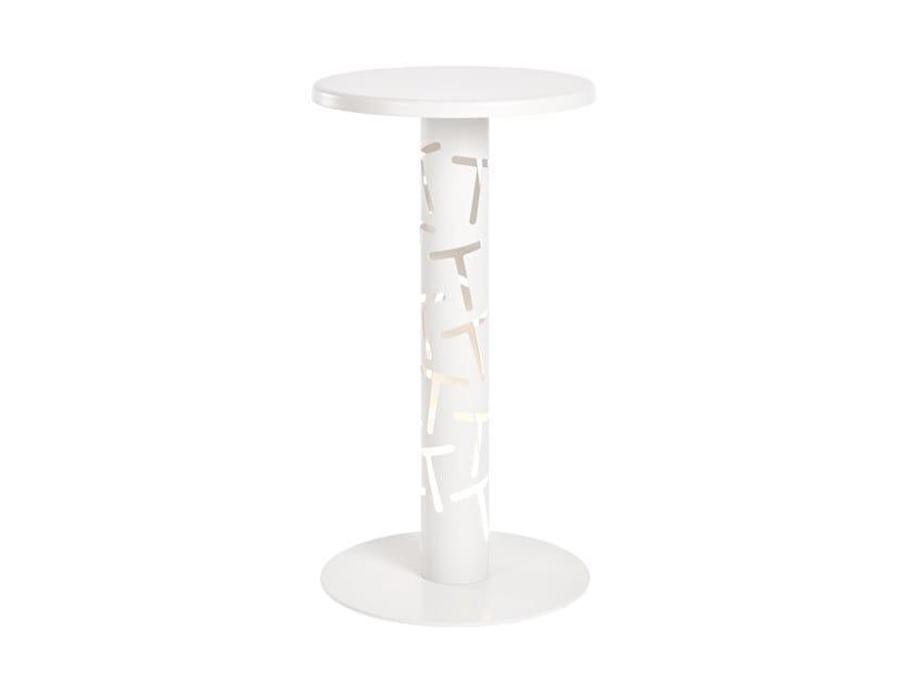 Round metal table THAU | Table by CaStil