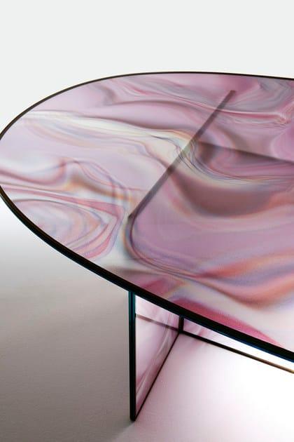 In Italia LiquefyTavolo Ovale Glas Cristallo wn0PkO