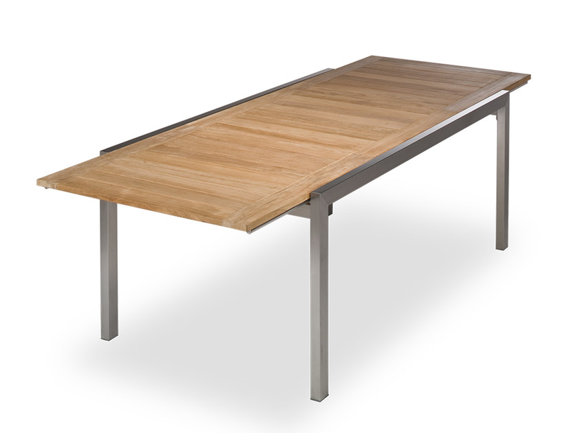 Extending teak tables archiproducts