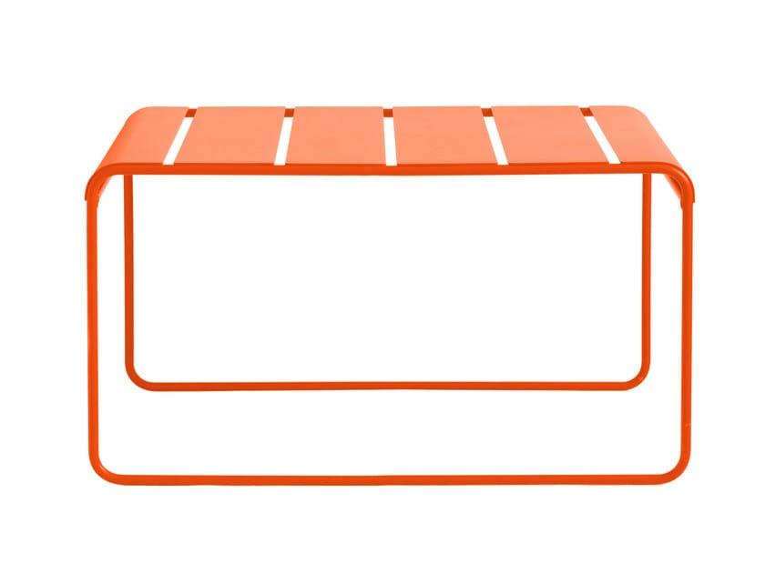 Rectangular powder coated aluminium garden table TOSCANA | Table by iSimar