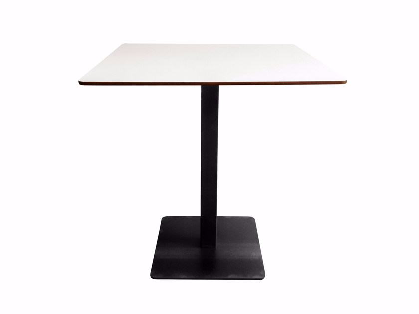 Square wooden contract table MODUL PLUS | Table by KFF