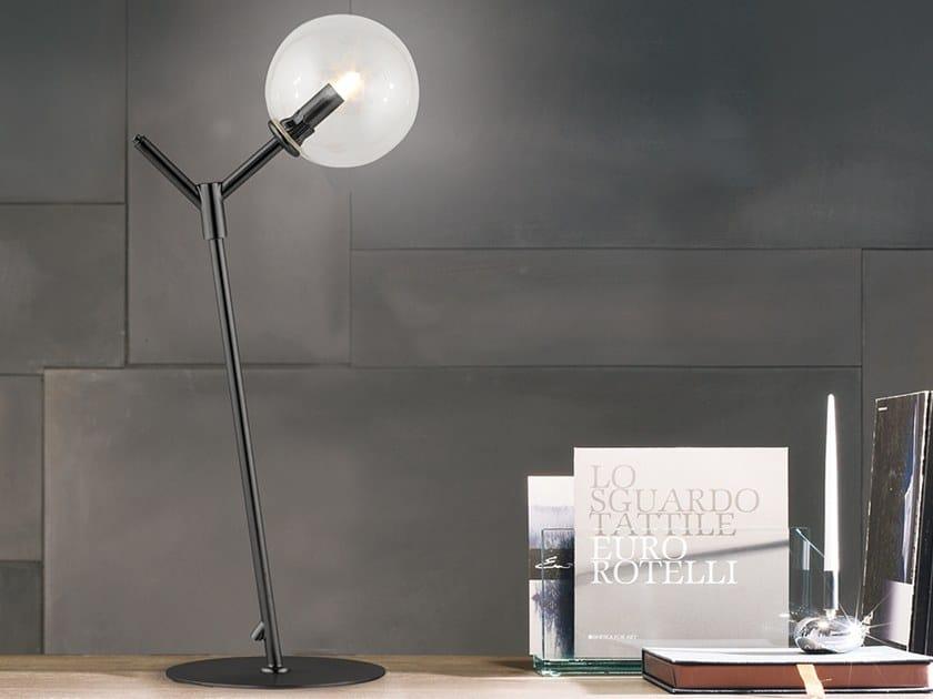 Metal table lamp GIOCONDA | Table lamp by Adriani e Rossi edizioni