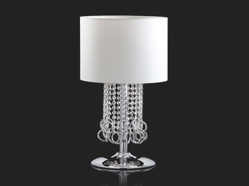 Table lamp with crystals LISA | Table lamp by Aiardini