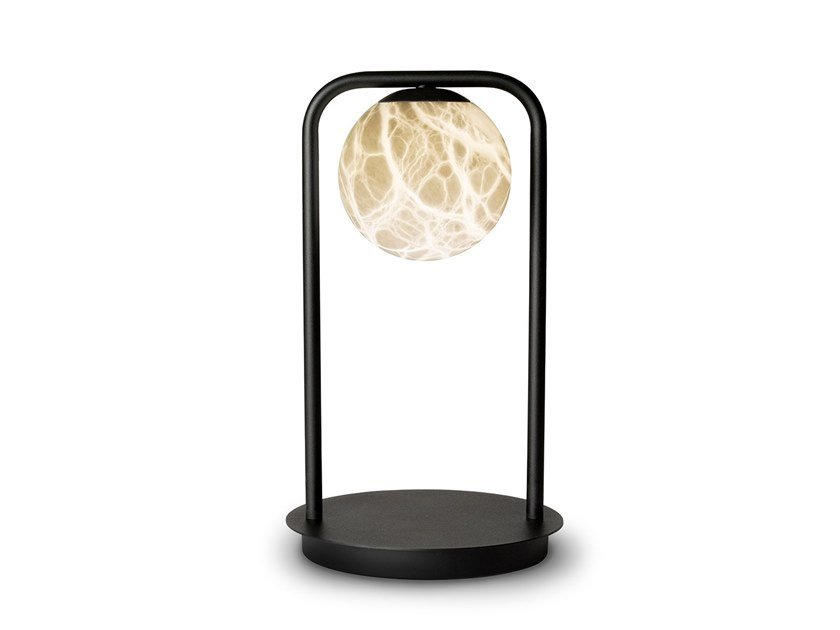 LED alabaster table lamp TRIBECA | Table lamp by ALMA LIGHT